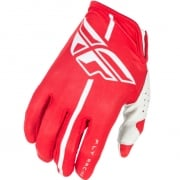 2018 Fly Racing Lite Kids Gloves - Red Grey