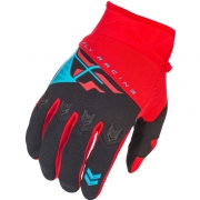 2018 Fly Racing F16 Kids Gloves - Red Black