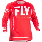 2018 Fly Racing Lite Hydrogen Jersey - Red Grey