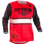 2018 Fly Racing Kinetic Jersey - Era Red Black