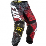 2018 Fly Racing Kinetic Pants - Rockstar Black White Red