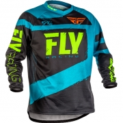 2018 Fly Racing F16 Jersey - Blue Black
