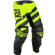 2018 Fly Racing F16 Kids Pants - Black Hi Viz