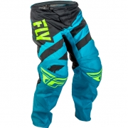 2018 Fly Racing F16 Kids Pants - Blue Black