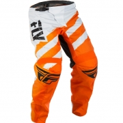 2018 Fly Racing F16 Kids Pants - Orange White