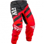 2018 Fly Racing F16 Kids Pants - Red Black