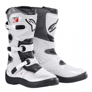 Alpinestars Kids Boots Tech 3S - White