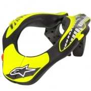 Alpinestars Kids Neck Support - Black Flo Yellow