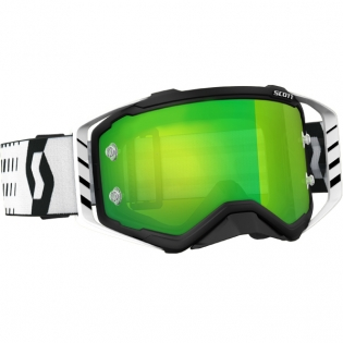 2018 Scott Prospect Goggles - Black White Green Chrome