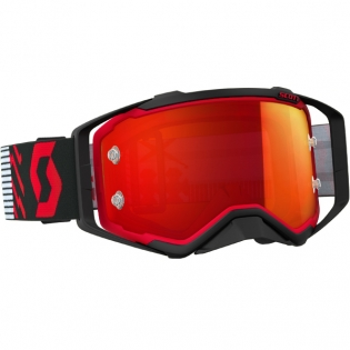 2018 Scott Prospect Goggles - Red Black Orange Chrome