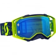 2018 Scott Prospect Goggles - Yellow Blue Electric Blue Chrome