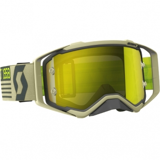 2018 Scott Prospect Goggles - Grey Beige Yellow Chrome