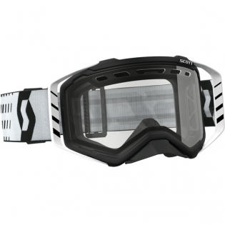 2018 Scott Prospect Enduro Goggles - Black White Clear