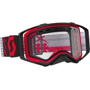 2018 Scott Prospect Enduro Goggles - Red Black Clear