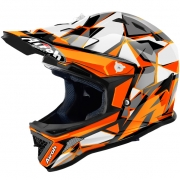 2018 Airoh Archer Junior Kids Helmet - Chief Orange Gloss