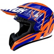 2018 Airoh Switch Helmet Startruck Blue Gloss