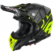 2018 Airoh Aviator 2.2 Helmet Styling Yellow Matt