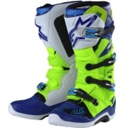 Alpinestars Tech 7 Boots - Ltd Troy Lee Designs Flo Yellow Blue White
