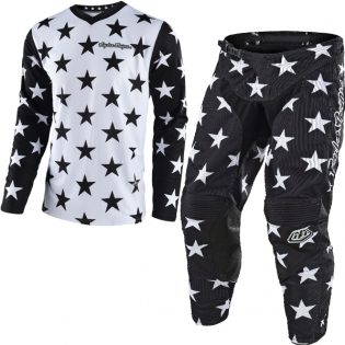 Troy Lee Designs GP Kit Combo - Star White Black