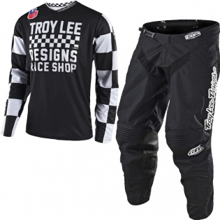 Troy Lee Designs GP Kit Combo - Checker Black