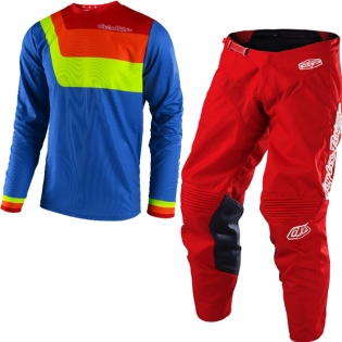 Troy Lee Designs GP Kit Combo - Prisma Blue Red
