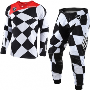 Troy Lee Designs SE Kit Combo - Joker White Black