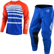 Troy Lee Designs SE Kit Combo - Streamline Orange Blue