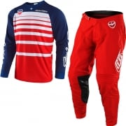 Troy Lee Designs SE Kit Combo - Streamline Red Navy