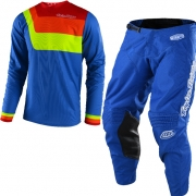 Troy Lee Designs Kids GP Kit Combo - Prisma Blue