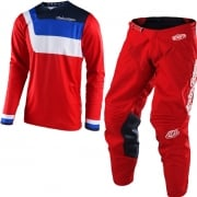 Troy Lee Designs Kids GP Kit Combo - Prisma Red