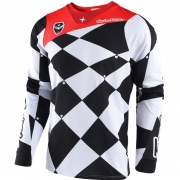 Troy Lee Designs SE Jersey - Joker White Black