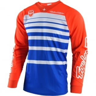 Troy Lee Designs SE Jersey - Streamline Blue Orange