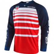 Troy Lee Designs SE Jersey - Streamline Red Navy