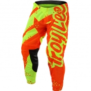 Troy Lee Designs Kids GP Pants - Shadow Flo Yellow Orange