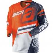 2018 Answer Elite Jersey - Orange Grey