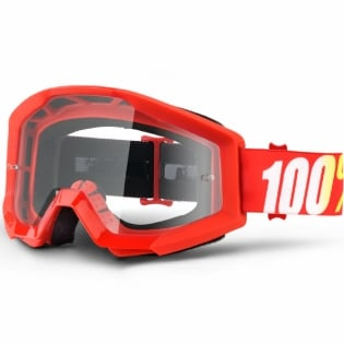 100% Strata Goggles - Furnace Clear Lens