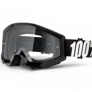100% Strata Goggles - Outlaw Clear Lens