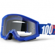 100% Strata Goggles - Nation Clear Lens
