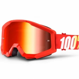 100% Strata Goggles - Furnace Mirror Lens