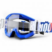 100% Strata Mud Goggles - Nation SVS Clear Lens