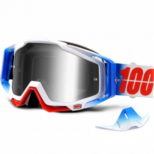 100% Racecraft Goggles - Fourth Mirror Lens