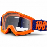 100% Accuri Kids Goggles - Origami JR Clear Lens