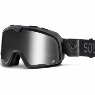 100% Barstow Classic Goggles - Solitario Smoke Lens
