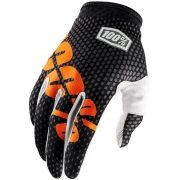 100% iTrack Motocross Gloves - Charcoal