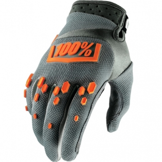 100% Airmatic Gloves - Grey