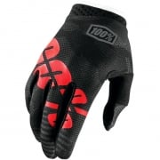 100% iTrack Kids Motocross Gloves - Black Camo