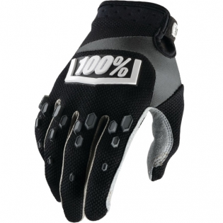100% Airmatic Kids Gloves - Black