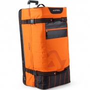 Acerbis X Moto Wheeled Gear Bag - Orange