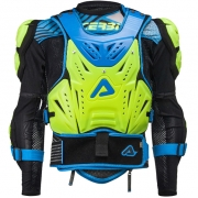Acerbis Cosmo 2.0 Body Armour - Flo Yellow Blue