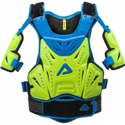 Acerbis Cosmo MX 2.0 Body Armour - Flo Yellow Blue